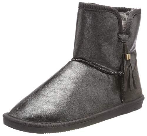 Pieces Psdia Winter Boot, Bottes & Bottines Souples Femme, Gris (Gunmetal Gunmetal), 36 EU