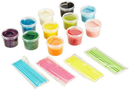 Pati-Versand Cake-Pop Set Farbexplosion, 1er Pack