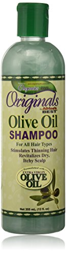 ORGANICS BY AFRICA'S BEST Ab Org Huile d'Olive Shampoing 12 Oz 360 ml
