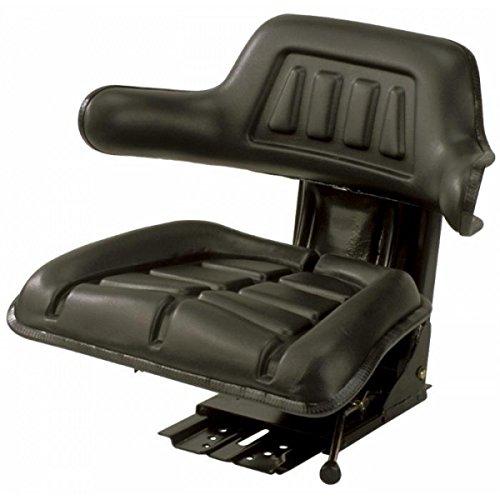 Universal asiento de tractor, color negro