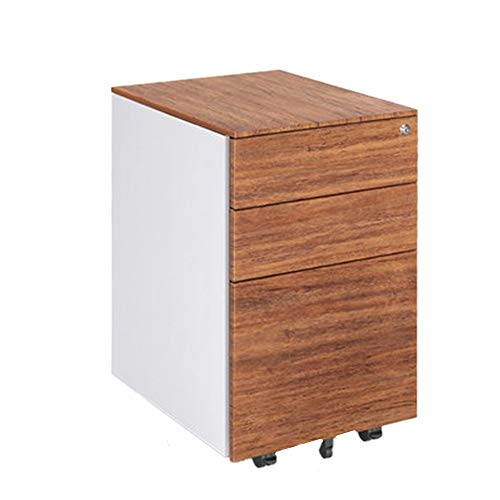 A4 Filing Cabinet 3 Drawer File Organizer Cabinet Home Office Vertical Cabinets Home Office (Color : B, Size : 39x45x60cm)