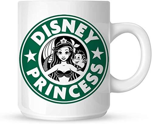 PICOM99 Ariel Starbuck Prinzessin Kaffeetasse Tasse personalisierte Foto Tasse Geschenk