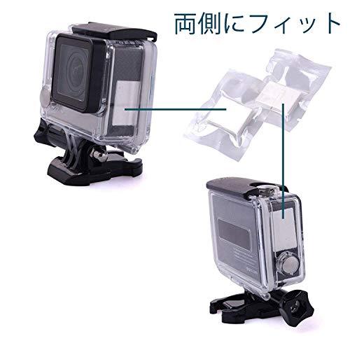 『水中撮影の曇り止めシート 24枚入り 再使用可能な水分吸収ストリップ - GoPro 用 SJ4000 SJ5000 ソニーアクションカメラ』の2枚目の画像