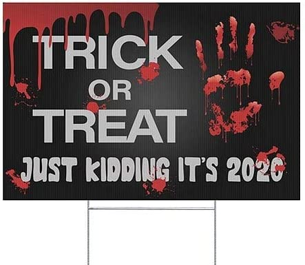 18x12 5-Pack Halloween 6 Double-Sided Weather-Resistant Yard Sign CGSignLab