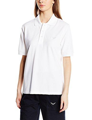 Trigema Damen Poloshirt , Weiß (Weiss 001) , XS