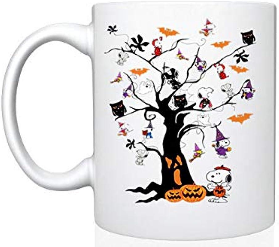 Snoopy Halloween Tree 11 Oz Gift Mug