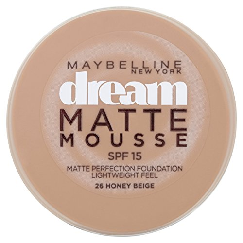 Maybelline Jade Dream Matte Mousse Make-up (026 Honey Beige)