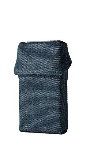 smokeshirt® Club Zigarettenetui div. Designs Long 100 mm smoke shirt für Zigarettenschachtel in Größe 100 mm, modisch, Elegante, patentiert