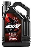 Motul 300V 4T Factory Line 104121 Road Racing, 10W-40, 4 L