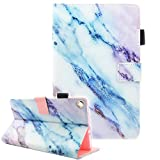 Fvimi All-New HD 8 Case, Slim Fit Folio Stand Leather Cute Design Smart Cover with Auto Wake/Sleep Function for HD 8 8th...