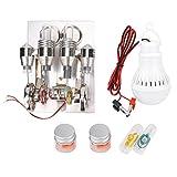 Magnífico Motor LED Stirling Fine Mini Modelo de física práctica Modelo Educativo de Laboratorio