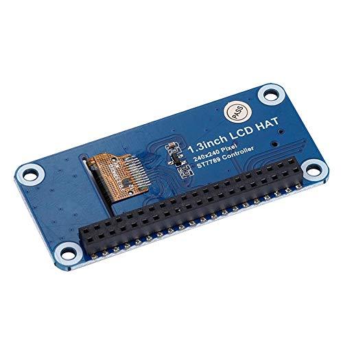 Duokon Pantalla LCD de 1.3 Pulgadas IPS OLED LCD Hat para Pantallas optoelectrónicas Raspberry Pi 3B + / 3B / Zero W Industrial Electrical