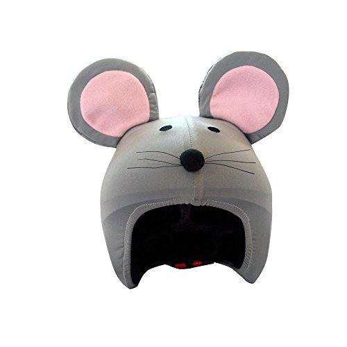 Coolcasc Animals Mouse Protection Casque Jeunesse Unisexe, Gris, Taille Unique