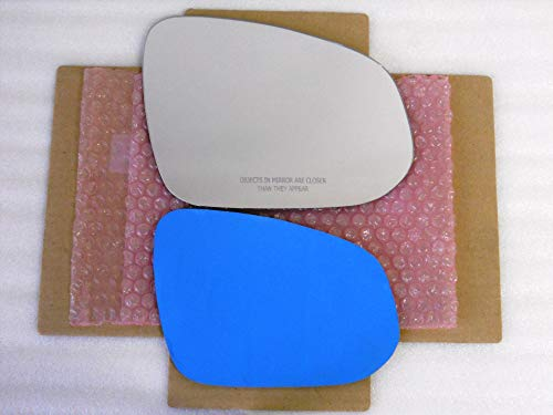 New Replacement Mirror Glass with FULL SIZE ADHESIVE for Toyota RAV4 Toyota 4RUNNER Passenger Side View Right RH
