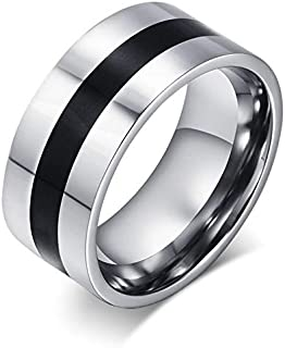 Ring For Men By Bluna, Silver, Size 8, R010