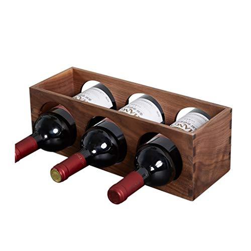 Bois de noyer noir nord-américain petit vin solide bois bureau bureau créatif plateau de vin décoration racks de vin