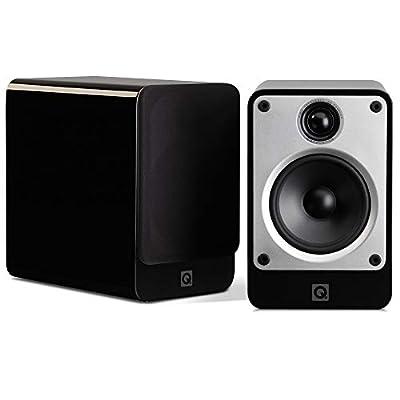 Q Acoustics Concept 20 Bookshelf Speakers (Pair) (Gloss Black) from Q Acoustics