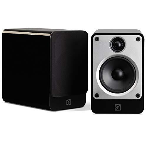 Q Acoustics Concept 20 Negro Altavoz - Altavoces (De 2 vías, 2.0 Canales, Alámbrico, 64-22000 Hz, 6 Ω, Negro)