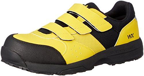 [アシックス商事 テクシーワークス] 安全靴 プロテクティブスニーカー WX-0002 イエロー 30 cm 3E