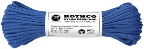 Rothco 550lb. Over item handling ☆ 67% OFF of fixed price Type Paracord III Nylon