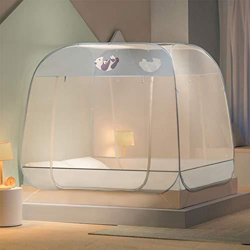 LTJTVFXQ-tarp Mosquitera, sin instalación Carpa antimosquitos , Mosquitera Engrosada para niños Adultos , Adecuado para Dormitorio Dormitorio Habitación Infantil