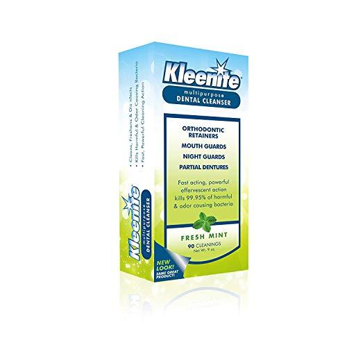 Kleenite Kleenite Dental Cleanser Fresh Mint, Fresh Mint 9 Oz, Pack of 3