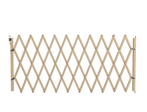 Savic 13169 Schutzgitter Akkordeon Holz, braun