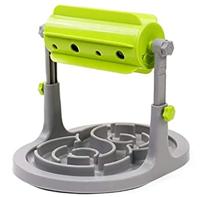 M&S Pet Care Interactive Toy for Dogs Cats - Slow Feeder Bowl for Healthy Eating - Smart IQ Training for Pets - Treat Dispenser - Puzzle Toy for Mental Stimulation - Provides Hours of Fun and Exercise