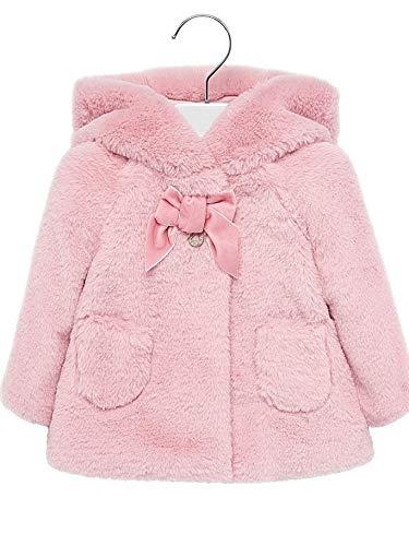 Mayoral 19-02429-056 - Plüschjacke für Baby - Mädchen 24 Monate (92cm) Rosa