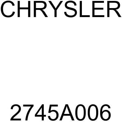 Genuine Chrysler 2745A006 Automatic Brake Our shop most popular Plate Backing Max 53% OFF