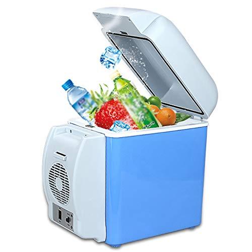 YANN 7.5L Caja Fresca Portátil Thermoelectric Car Refriador de Autos |Compacto, portátil y Tranquilo |para el hogar, Dormitorio, Coche, Vacaciones, Maquillaje de Bebidas para Alimentos