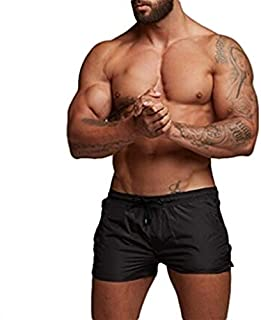Men's Bodybuilding Gym Running Workout Shorts New Pure Breathable Sports Short Leggings