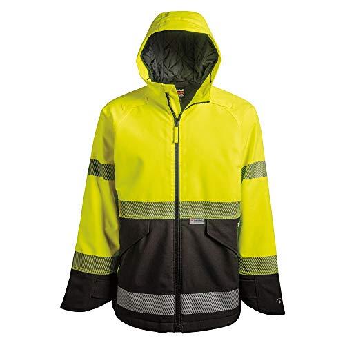 Timberland PRO Men's A1OT5 Work Sight High-Visibility Insulated Jacket - XX-Large - ANSI Yellow