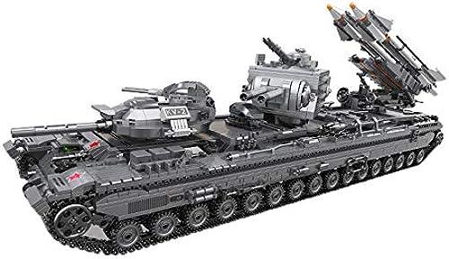 Three-dimensional puzzle Kinderspielzeug, schweres Panzerwagenmodell zusammengebaut und in die Bausteine  ingesetzt, um Aufkl ngs-Lernspielzeug (Kinder über 6 Jahre) einzuSätzen