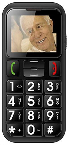 ROXX Handy Seniorenhandy Grosstastentelefon Telefon vertragsfrei Dual SIM W60
