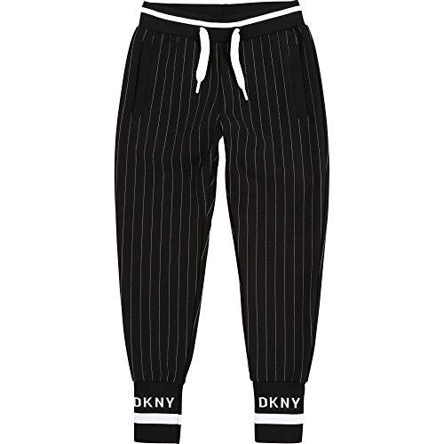 DKNY Pantalone Ragazza Nero D349761 Nero 14 Anni