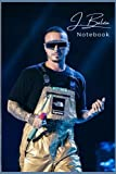 J Balvin Notebook and Journal Perfect for Birthday gifts and Fan club members: perfectly Lined journal with 110 pages , 6x9 inchesl