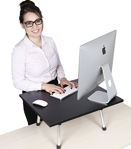 Stand Steady Executive Standing Desk - Large Surface (31.5 in x 22 in) - New Taller Model with Non-Skid Feet (Original - Medium)