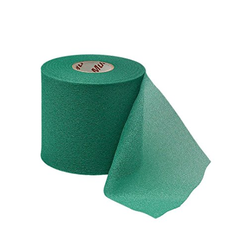 Mueller M-Wrap Pre wrap for Athletic Tape (Big Green, 4 Rolls)