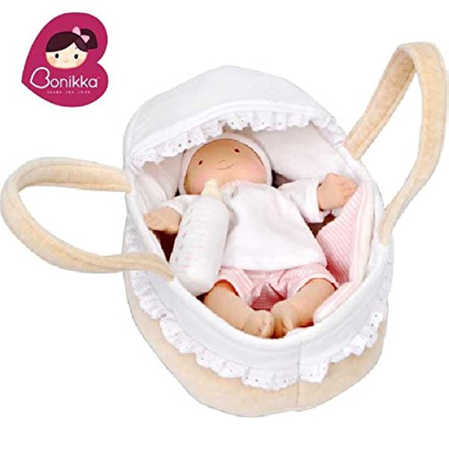処理する虎次Bonikka ボニカ クーハンでおでかけ赤ちゃんセット ボトル&ブランケット付 お世話人形