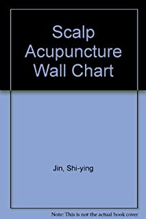 Scalp Acupuncture Wall Chart (English-Chinese)