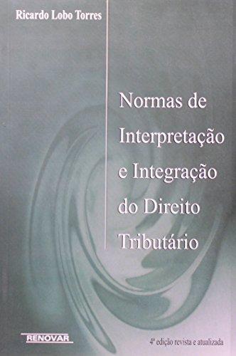 Normas de Interpretação e Integração do Direito Tributário