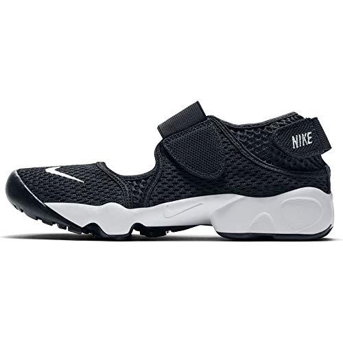 Nike Rift (GS/PS Boys), Zapatillas de Atletismo Niño, Negro (Black/White 000), 32 EU