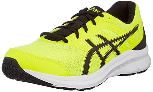 ASICS Jolt 3, Zapatillas de Correr por Carretera. Hombre, Seguridad Amarilla y Negra, 44 EU