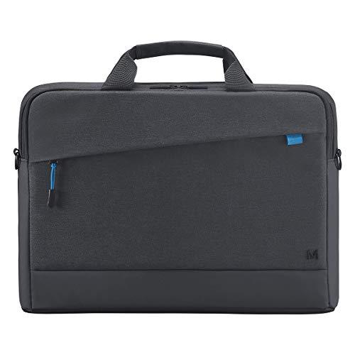 Mobilis Sacoche pour Ordinateur Portable 14-16 , Porte-Documents à Bandoulière Imperméable, Laptop Bag, Noir