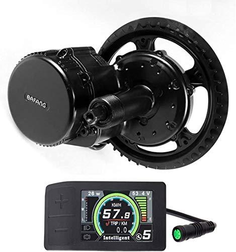 Bafang 48V 750W Mid Drive Kit de conversión Bicicleta eléctrica Kit de Motor Medio E-Bike para Adultos Ciclismo para Bicicletas de Carretera Bicicleta de montaña