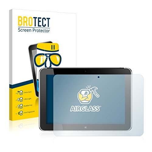 BROTECT Panzerglas Schutzfolie kompatibel mit HP ElitePad 1000 G2 - AirGlass, 9H Härte, Anti-Fingerprint, HD-Clear