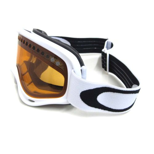 Oakley Kinder Skibrille XS O-Frame, Matte White w/Persimmon, 02-494