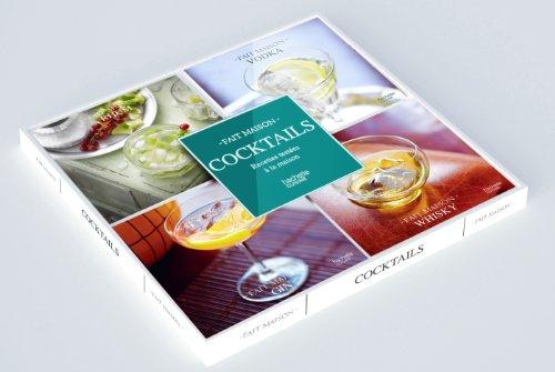 Coffret 4 mini-livres Cocktails