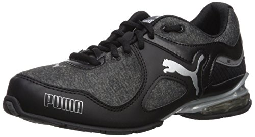 PUMA Women's Cell Riaze WN Sneaker, Black/Steel Gray, 7.5 M US